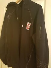 BLK England Rugby League player issue hoodie size XXL