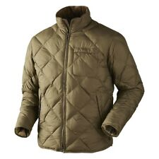 Harkila Berghem Jacket Olive or Navy Quilted Jacket Coat