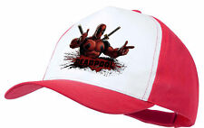 CAPPELLO DEADPOOL HERO LOCO GIOCHERELLONA ROSSA RED CAP ES