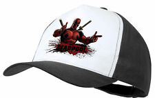 CAPPELLO DEADPOOL HERO LOCO GIOCHERELLONA NERA BLACK CAP ES