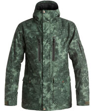 QUIKSILVER DARK AND STORMY JACKET SUNSET TUNNEL FOREST