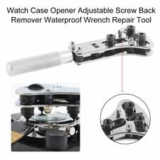 Watch Case Opener Adjustable Screw Back Remover Waterproof Wrench Repair Tool EF
