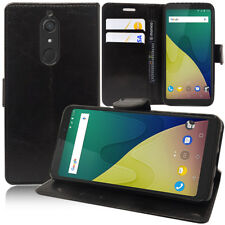 Portfolio Di Custodia Cover Guscio Supporto Video Falda per Wiko Vista XL 4G