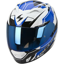SCORPION exo-1200 AIR SHARP Casco de moto integral Touring - Blanco Azul