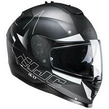 HJC is-17 Armada Casco de moto integral Touring - Mate Negro Gris Blanco