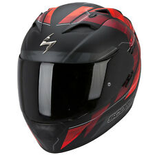 SCORPION exo-1200 air Hornet casco de moto integral Touring - Mate NEON ROJO