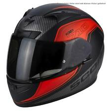 SCORPION exo-710 Air Mugello Motocicleta Casco integral Sport - Mate Negro NEON