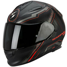 SCORPION exo-510 AIR SYNC Casco de moto integral Touring - Mate Negro NEON ROJO