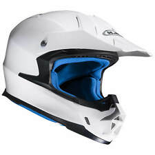 HJC fx-cross Metálico Motocicleta OFF ROAD / CASCO CROSS - Blanco