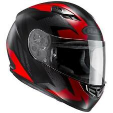 HJC cs-15 treague Casco de moto integral Touring - Mate Negro Gris Rojo
