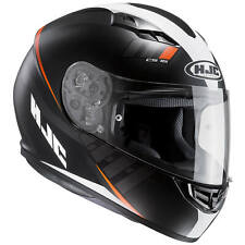 HJC cs-15 Espacio Casco de moto integral Touring - Mate Negro Blanco