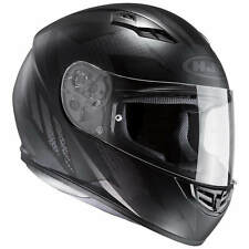 HJC cs-15 treague Casco de moto integral Touring - Mate Negro Gris