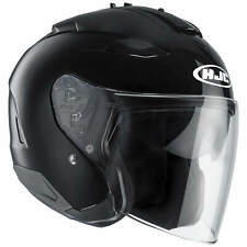 HJC IS-33 II metallique moto Casque jet - Noir