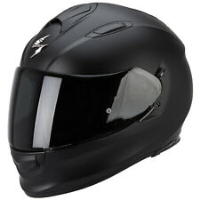 SCORPION EXO-510 AIR SOLID CASCO MOTO TOURING - NERO OPACO