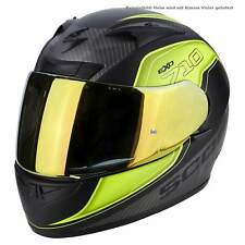 SCORPION EXO-710 AIR MUGELLO CASCO MOTO SPORT - NERO OPACO Neon Gel