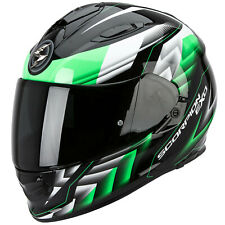 SCORPION EXO-510 AIR SCALE CASCO MOTO TOURING - nero verde