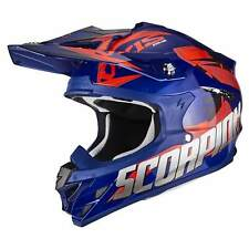 SCORPION VX-15 EVO AIR DEFENDER MOTO CASCO DA CROSS - BLU ROSSO