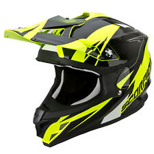 SCORPION VX-15 EVO AIR KRUSH MOTO CASCO DA CROSS - Giallo Fluo Nero