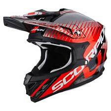 SCORPION VX-15 EVO AIR SIN MOTO CASCO DA CROSS - NEON NERO ROSSO