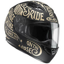 HJC CS-15 REBEL CASCO MOTO TOURING - NERO OPACO ORO