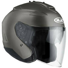 HJC IS-33 ii semi plat moto Casque jet - MAT Titan