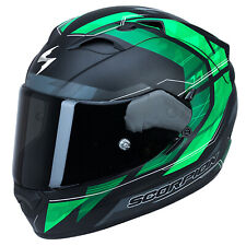 SCORPION EXO-1200 AIR HORNET CASCO MOTO TOURING - Nero Opaco Verde
