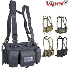 VIPER TACTICAL SPECIAL OPS CHEST RIG POUCH VEST AIRSOFT PAINTBALLING ARMY