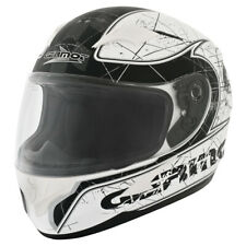 GERMOT GM 305 CASCO INTEGRAL - Mate Blanco Negro