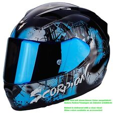 SCORPION EXO-1200 AIR Tenebris CASCO MOTO TOURING - Nero Himmelbla
