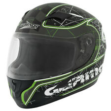GERMOT GM 305 CASCO INTEGRALE - Nero Opaco Verde