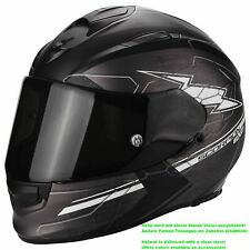 SCORPION EXO-510 AIR CROSS CASCO MOTO TOURING - OPACO GRIGIO SCURO NERO