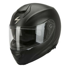 SCORPION EXO-3000 AIR SOLID CASCO MODULARE - NERO OPACO