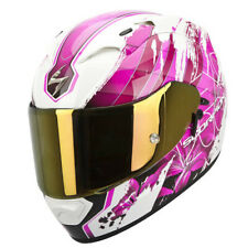 SCORPION EXO-1200 AIR LILIUM Donna CASCO INTEGRALE - Madreperla Bianco Fucsia