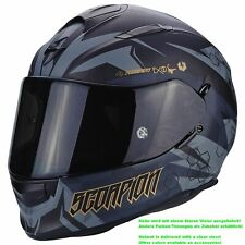 SCORPION EXO-510 AIR Cipher CASCO MOTO TOURING - NERO OPACO