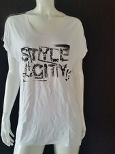 BIBA Camiseta Estilo of the City Serie Blanco CS 041 talla L NUEVO