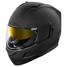 ICON ALLIANCE GT RUBATONE MOTO CASCO INTEGRAL Touring POLICARBONATO - Mate Negro