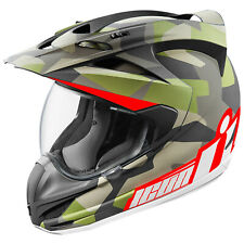 ICON VARIANT Deployed CASCO INTEGRALE DA MOTO CROSSOVER COMPOSITO FIBRA - Nero