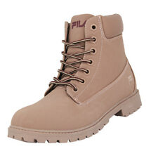 Fila MAVERICK MID WMN Chaussures Mode Sneakers Femme Cuir Suede Rose