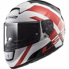 Casque LS2 Vector HPFC Trident White Red