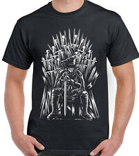 The Thrones of VENDETTA Mash Up PARODIA - UOMO T-SHIRT DIVERTENTI GIOCO DI Got V
