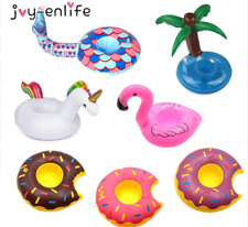 1 x Inflatable Floating Swimming Pool Beach Drink Can Cup Beer Holder Boat Toy