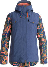 ROXY CEDER JACKET BLUE PRINT
