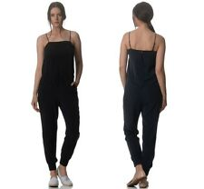 Kit and Ace Black Navy Silk Easy Breezy Jumpsuit Playsuit US UK 4 6 8 10 12 $350