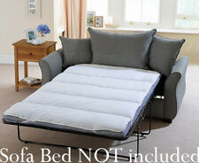 MATTRESS TOPPER Small Double Pull Out Sofa Bed or Bunk Bed Single Size Protector