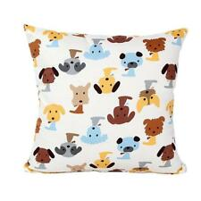 Dog Pattern Sofa Bed Home Decor Pillow Case Cushion Cover