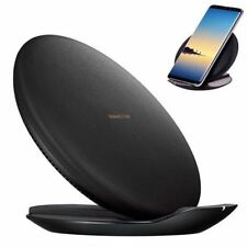 Qi Wireless Fast Charging Pad Stand Plate Charger for Samsung Galaxy S8 S8 Plus
