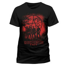 Supernatural Red Winchester Brothers Glyphs Official Tee T-Shirt Mens Unisex