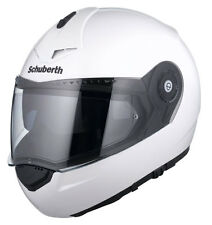 Schuberth C3 casco para moto blanco brillo Pro