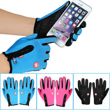 Women Men Motorcycling Touchscreen Winter Outdoor Riding Waterproof Gloves GP