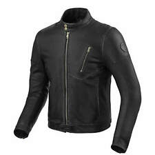 REVIT ALBRIGHT Giubbotto Moto in pelle da uomo City - Nero